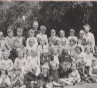 Vintage photo of St Margaret's Kindergarten